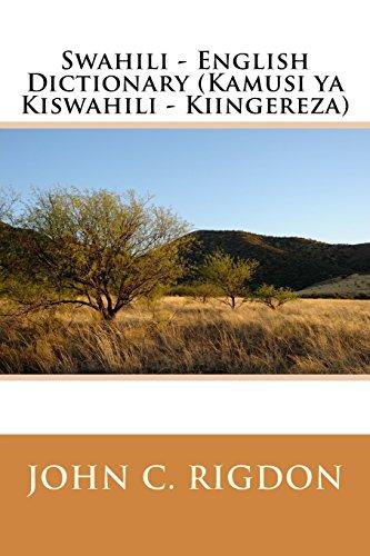 Read PDF Swahili - English Dictionary (Kamusi ya Kiswahili