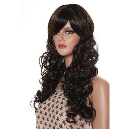 Dream Hair Wig Futura Kuku : FS4/30 cheveux synthétiques perruque longue bouclés cheveux synthétiques)