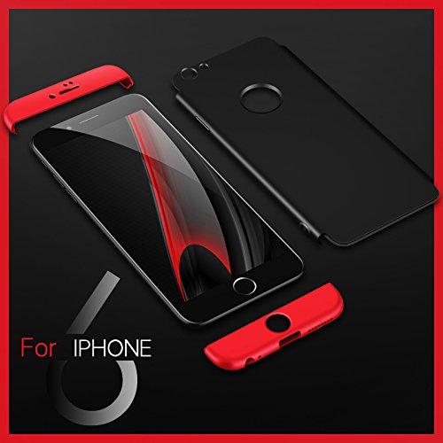 Ultra Slim Thin Custodia per iPhone 7Plus, MAOOY Luxury Hybrid 3in1 Hard PC Plastic Back Case con Utilizzo Completo per iPhone 7 Plus, Antiurto Antipolvere Antigraffio Ultra Protettiva per iPhone 7Plu Rose Gold 2