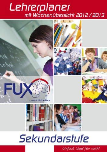Ausgefuxter Lehrerkalender/Lehrerplaner 2012/2013