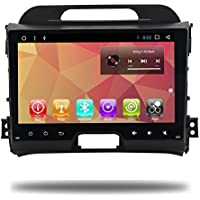 Android 8.0 Octa Core Car 2 Din Radio GPS Navi for KIA Sportage 2014 2011 2012