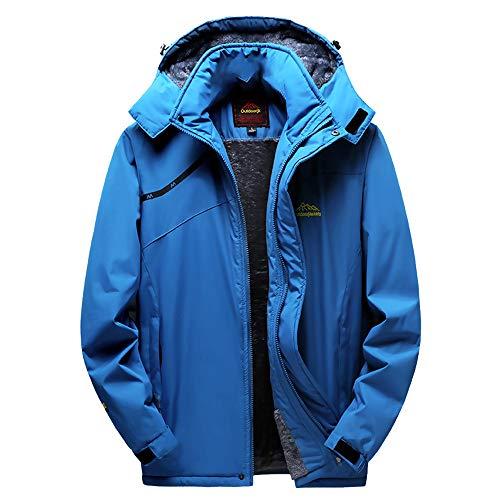 LQQSTORE Mantel Jacke Herren Hoodie Winterjacke Assault Coat Übergröße  Herrenjacke Outwear Steppjacke Winter Outdoor Cashmere Verdickung Männer ... 72b6da6b3e