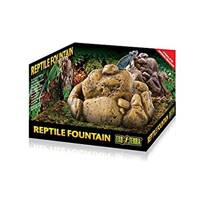 Exo Terra Reptile Fountain Water Dish with Pump 2