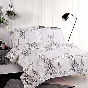Bettwäsche 200200 Grau Weiß Deine Wohnideende