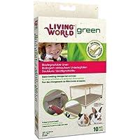 Living World 10 Sacs Biodégradable pour Petits Animaux