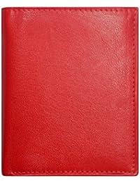 """Geldbörse, """"BASKET I"""", 527370 003 Damen und Herren Geldbörse, Leder, rot"""