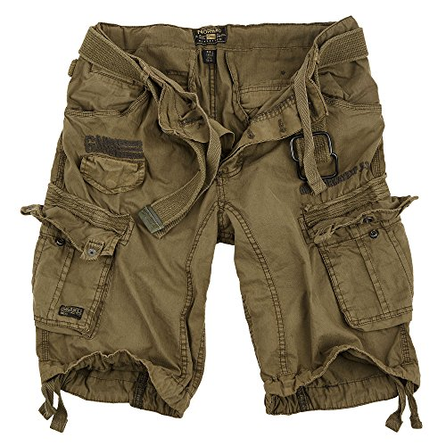 f5052a892 Geographical Norway Cortos Cargo Pantalones Cortos Bermudas Con Cinturón.