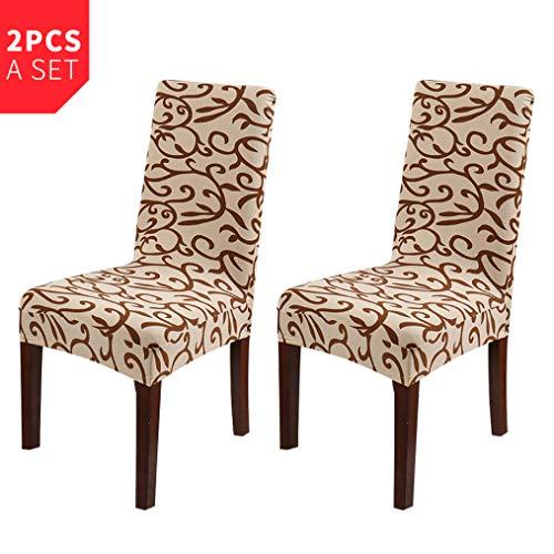 MAIAMY Moderne abnehmbare stuhlhussen Spandex elastische Anti-schmutzig esszimmerstuhl Schonbezug für bankett küche sitzbezug