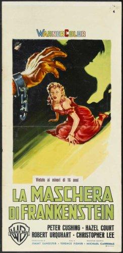Curse of Frankenstein Plakat Movie Poster (11 x 17 Inches - 28cm x 44cm) (1957) Italian