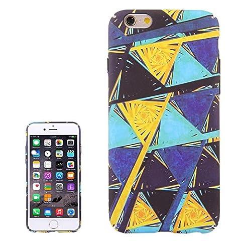 Protection&fashion Für iPhone 6 Plus & 6s Plus Wasserabziehbilder Color Triangle Design Pattern PC Schutzhülle ( SKU : Ip6p0942c )
