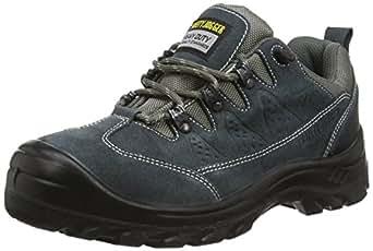 Safety Jogger KRONOS, Unisex - Erwachsene Arbeits & Sicherheitsschuhe S1, grau, (blk/dgr/mgr 112), EU 36