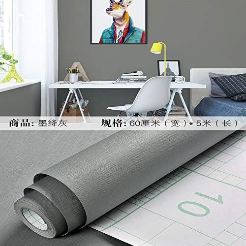 lsaiyy Selbstklebende tapete Schlafzimmer Wohnzimmer wasserdicht PVC Student Schlafzimmer renovierungsaufkleber tapete-60 cm X 5 Mt