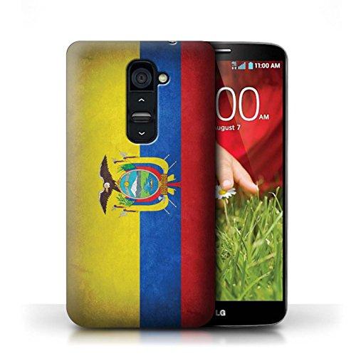 Hülle Case für LG G2 / Portugal/Portugiesische Entwurf / Flagge Collection Ecuador/Ecuadorianischen