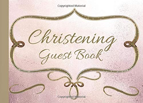 Dorothy Outfit - Christening  Guest Book: For Best