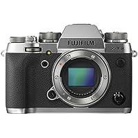 Fujifilm X-T2 Systemkamera mit Gehäuse 24,3 Megapixel Graphit/Silber