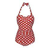 Damen Tankini Set Große Größen Zweiteiliger Badebekleidung Bauchweg Push Up Bademode