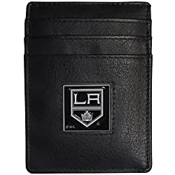 Los Angeles Kings Leather Money Clip/Cardholder Packaged in Gift Box