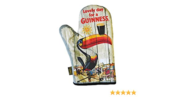 Genuine Licensed Guinness Chef/'s Apron 100/% Cotton Toucan Design