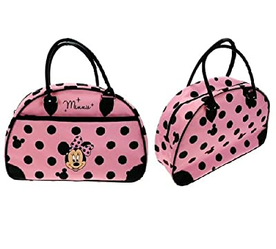 Disney Minnie Mouse - Polka Dot Holdall Hand Luggage Flight Cabin Bag