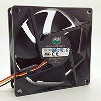 Ventilador para carcasa A8025-18CB-3NB-F1 de 80 x 25 mm, 12 V, 0,12 A, 3 cables, 8 cm, Cooler Master DF0802512SEDN