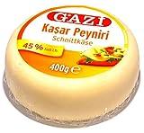 Produkt-Bild: Gazi - Kashkaval Schnitt- Käse 45% i.Tr. - Kasar peyniri (400g)