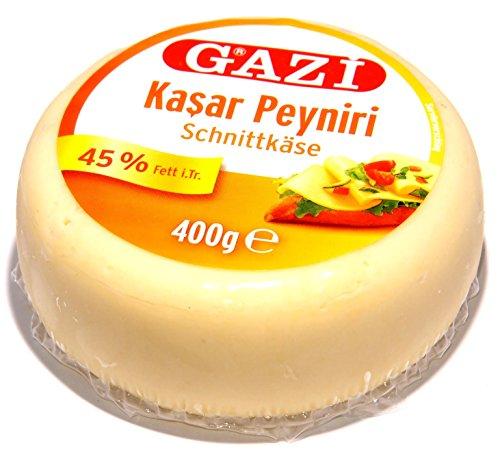 Gazi - Kashkaval Schnitt- Käse 45% i.Tr. - Kasar peyniri (400g)