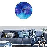 Moderne Dekoration Wohnzimmer Wanduhr,Star Bright Acryl Wanduhr Wohnzimmerdekoration FÜR Glatte Wände Aller Räume, CafÉ, Halle Von JAMINY