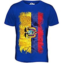 Ecuador Grunge Bandera - camiseta hombre Camiseta Top