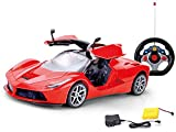 #8: Saffire 1:14 Rechargeable Remote Control Car with Opening Doors