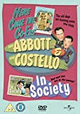Abbott And Costello: Here Come The Co-Eds/In Society [DVD]