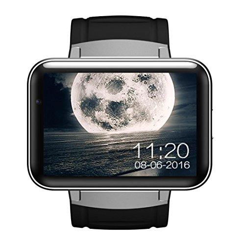 3G Android Smart Watch Phone, Mounter 4GB Armbanduhr Handy mit SIM-Karte Slot, wasserdicht Smartwatch für Android, 5,6cm OLED-Display
