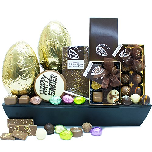 LUXURY EASTER CHOCOLATE HAMPER - Exclusive Easter Chocolate Hampers and Easter Chocolates by Eden4chocolates