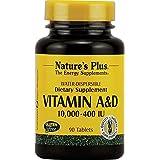 Nature's Plus - Vitamine A et D 90 Gélules