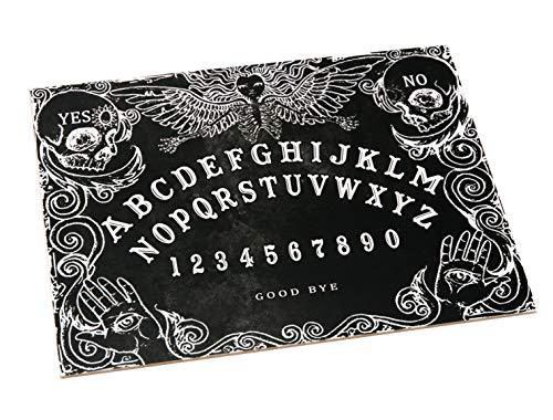 Wiccan Star Ouija Board. Schwarz Hexenbrett mit detaillierten Anweisungen (Ouija-brett)