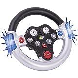 BIG 800056493 - Rescue-Sound-Wheel Kinderfahrzeug, Silber von BIG
