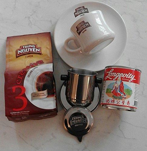 Vietnam Kaffee Starterpaket Trung Nguyen Creative 3 für 2 Personen