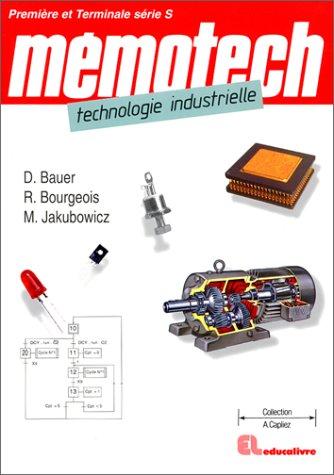 Mmotech technologie industrielle. 1re et terminale S