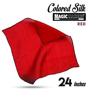 Foulard en soie (60 x 60 cm) - Rouge