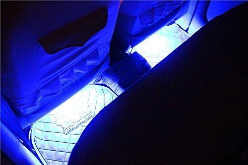 Iroundy 7 couleur led rgb pour clairage int rieur de for Lumiere interieur voiture