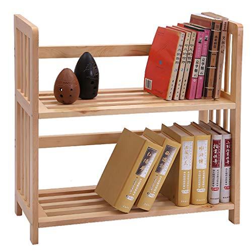 Freistehende Regaleinheit (Display-Regale, 2-Tier-freistehende Regal-Einheit, Desktop-Speicher-Organizer-Rack, kleine Bücherregal für Home & Office (größe : 2 Tier))