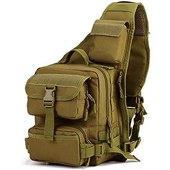 dccn tactical sling bag rucksack sling crossbag rucksack mit einem gurt taktische umh ngetasche. Black Bedroom Furniture Sets. Home Design Ideas