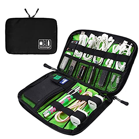 Visenta Portable Case Easy Universal Carry Travel Organizer Bag for Electronic Computer Cell Phone iPad Accessories.