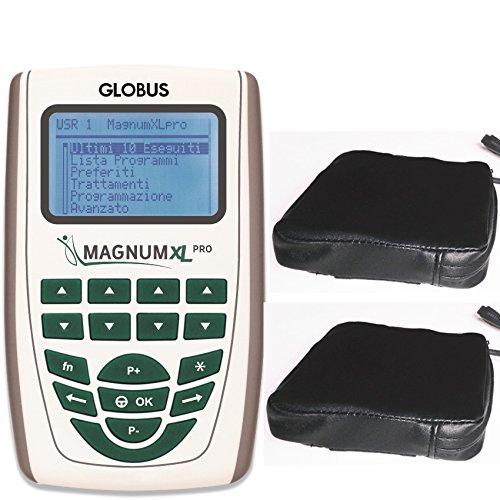 Magnum xl -pro con 2 solenoidi soft globus magnetoterapia 2 canali - 500 gauss di picco totale