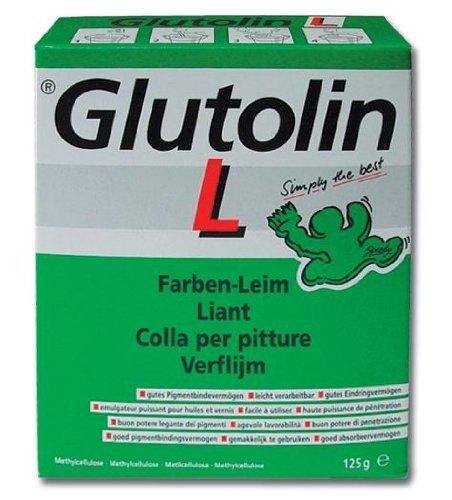 Colla in Polvere per Idropitture Glutolin L 125Gr