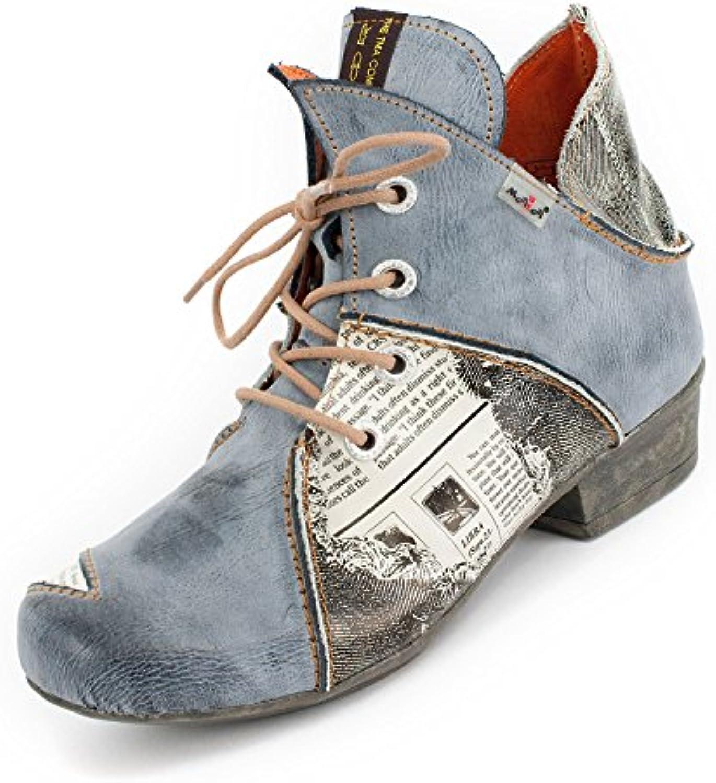 TMA scarpe, Stivali Donna Blu Grigio Blu 36 | elegante  | Uomini/Donne Scarpa