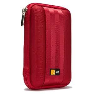"""Case Logic QHDC101R Étui semi-rigide pour unité de Disque Dur 2,5"""" Rouge"""
