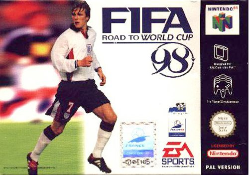 Fifa world cup 98 - Nintendo 64 - PAL