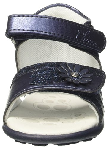 Chicco Giovanna, Sandales Plateforme Bébé Fille Bleu (Blu)