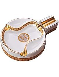 WAYMX Kreative Glas Aschenbecher Pers/önlichkeit Wohnzimmer Mode Zigarre Transparent Aschenbecher Dekoration Geburtstagsgeschenk