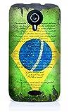 Sublinov Coque rigide pour Wiko Cink Five Motif Ron Abraham Brésil Multicolore